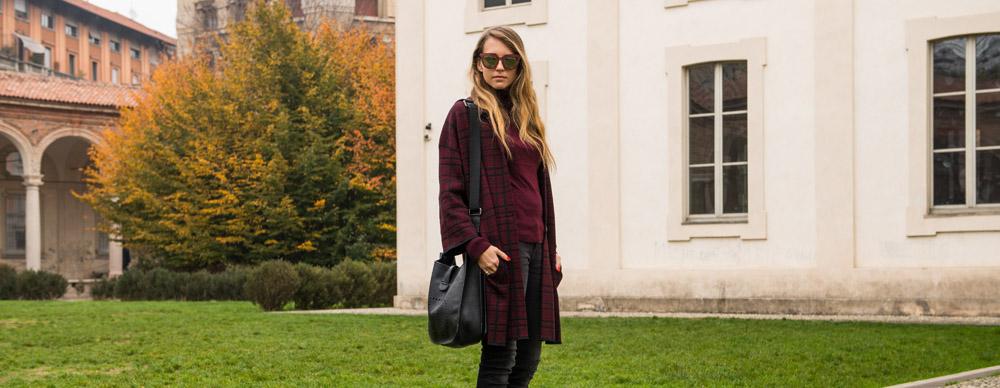 cappotto bordeaux inverno 2016