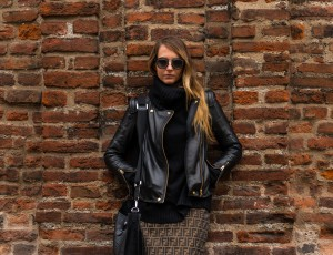 leather jacket beachriot