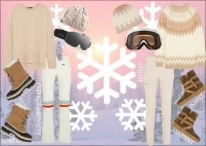 what to wear snow skiing