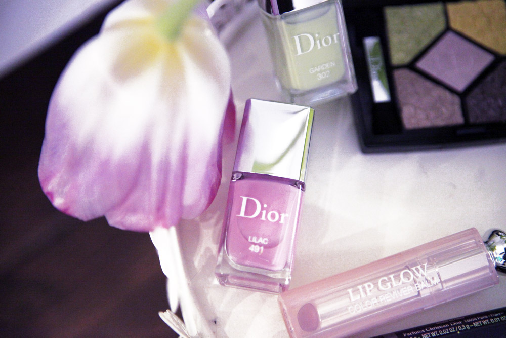 dior glowing gardens liliac 2016 nailpolish