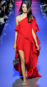 elie saab lond red dress spring 2016