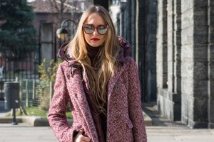 fay bordeaux tweed coat 2016