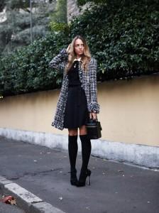 parigine e un little black dress