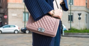 chanel boy bag pink