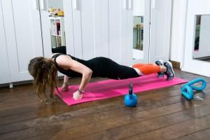 esercizi fisici da fare a casa