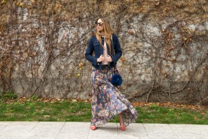 floral skirt fay
