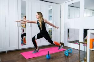 ginnastica a casa