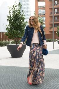 long skirt trends