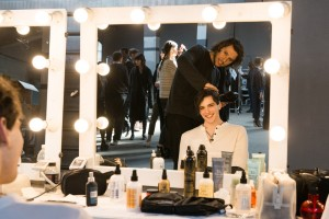 sisley backstage
