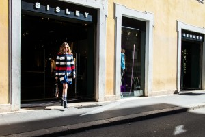 sisley rag&row shop in Roma experience