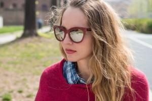 occhiali da sole burgundy primavera 2016