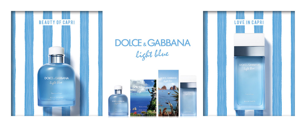 Dolce Gabbana Light Blue Capri