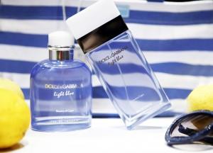 olce gabbana light blue capri edition