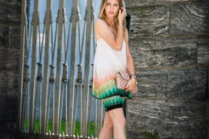 how to style the perfect dress for a summer event