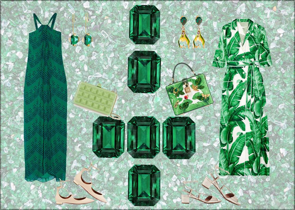 emerald look