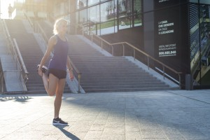 streching prima di correre