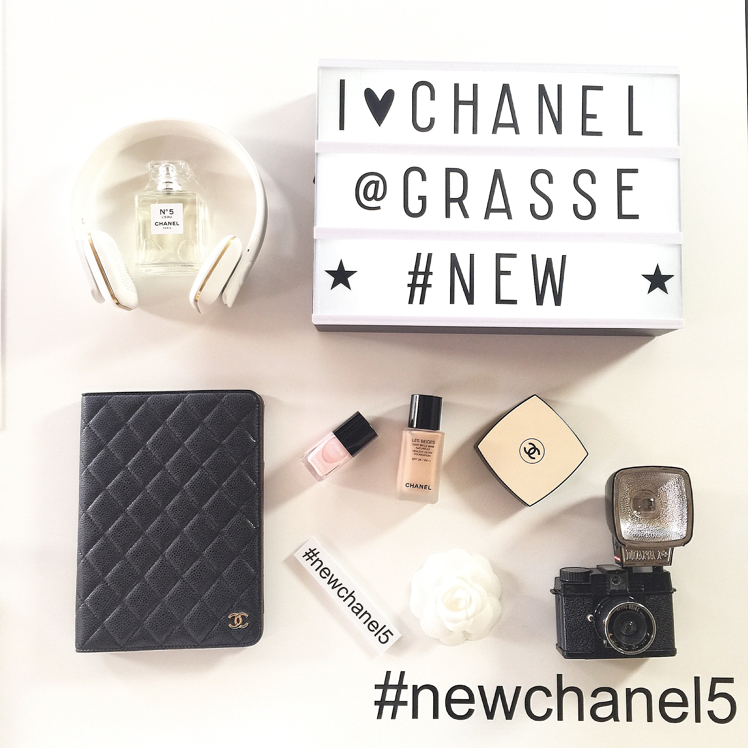 lightbox chanel grasse