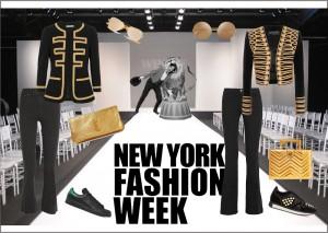 What wearing during New York Fashion Week 2017