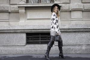 italian influencer virginia varinelli for fay