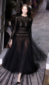 valentino gonna di tulle