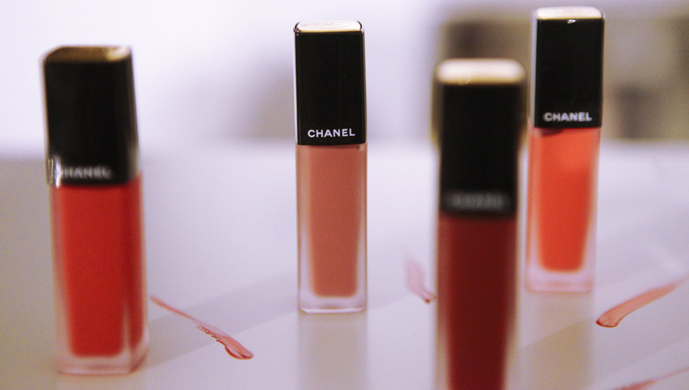 discover the new chanel allure ink