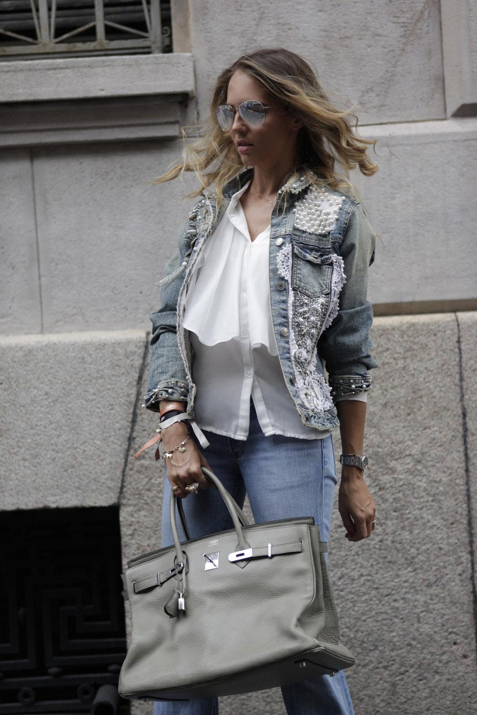 giacca di jeans personalizzata