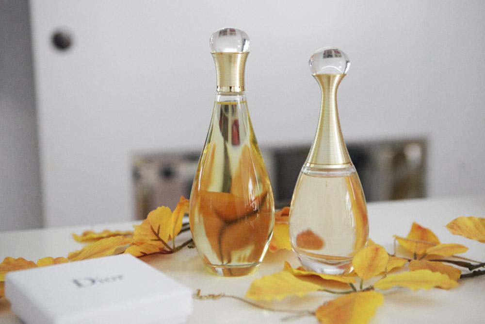 J'Adore: Huile Divine Dior