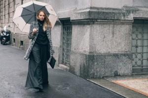 look alla moda quando piove