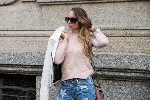 pullover pink cashmere