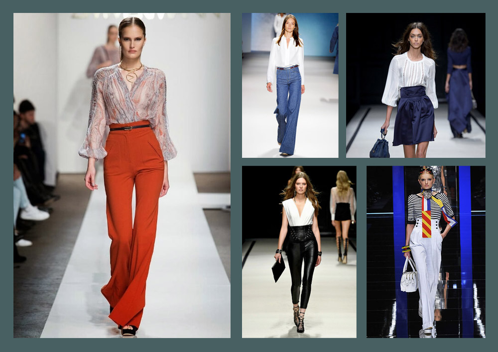Discover the High Waisted Pants