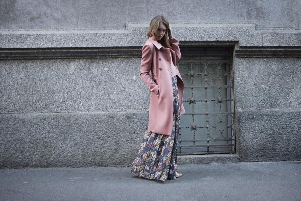 long skirt fay