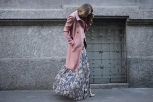 pink coat 2017 fall