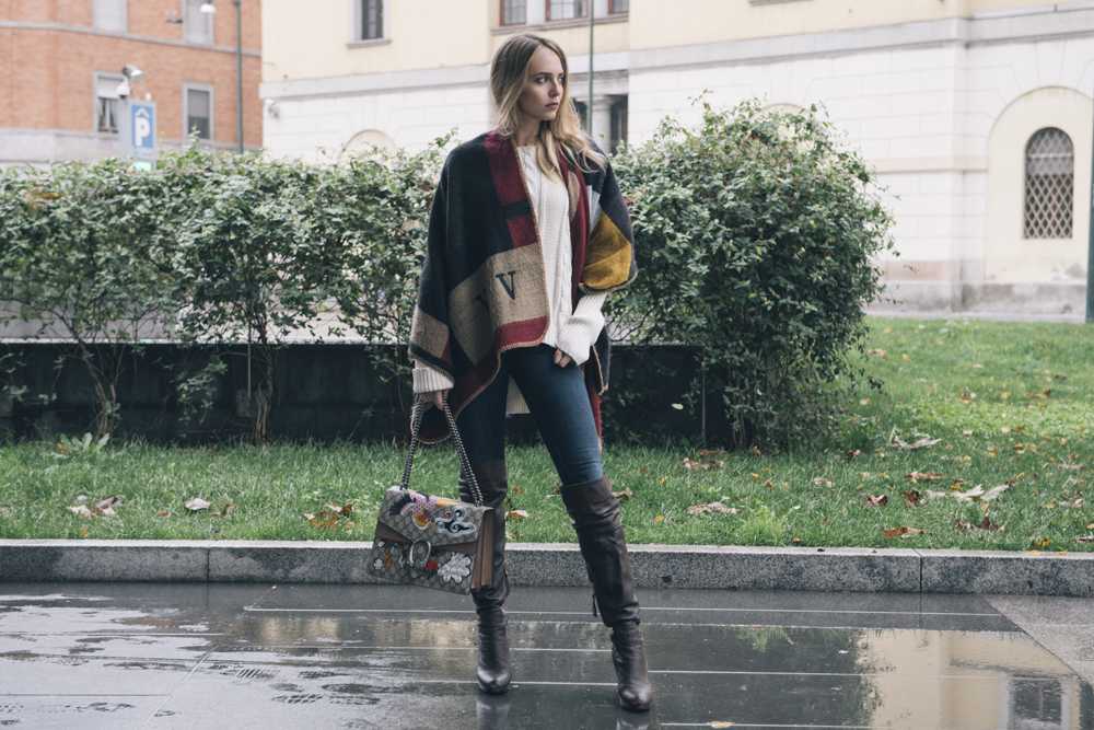 what wearing during a fall winter day