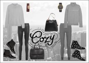 cozy fashion look