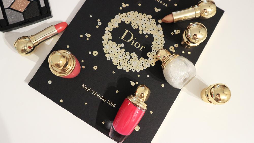 Splendor Dior: Il trucco Natale 2017