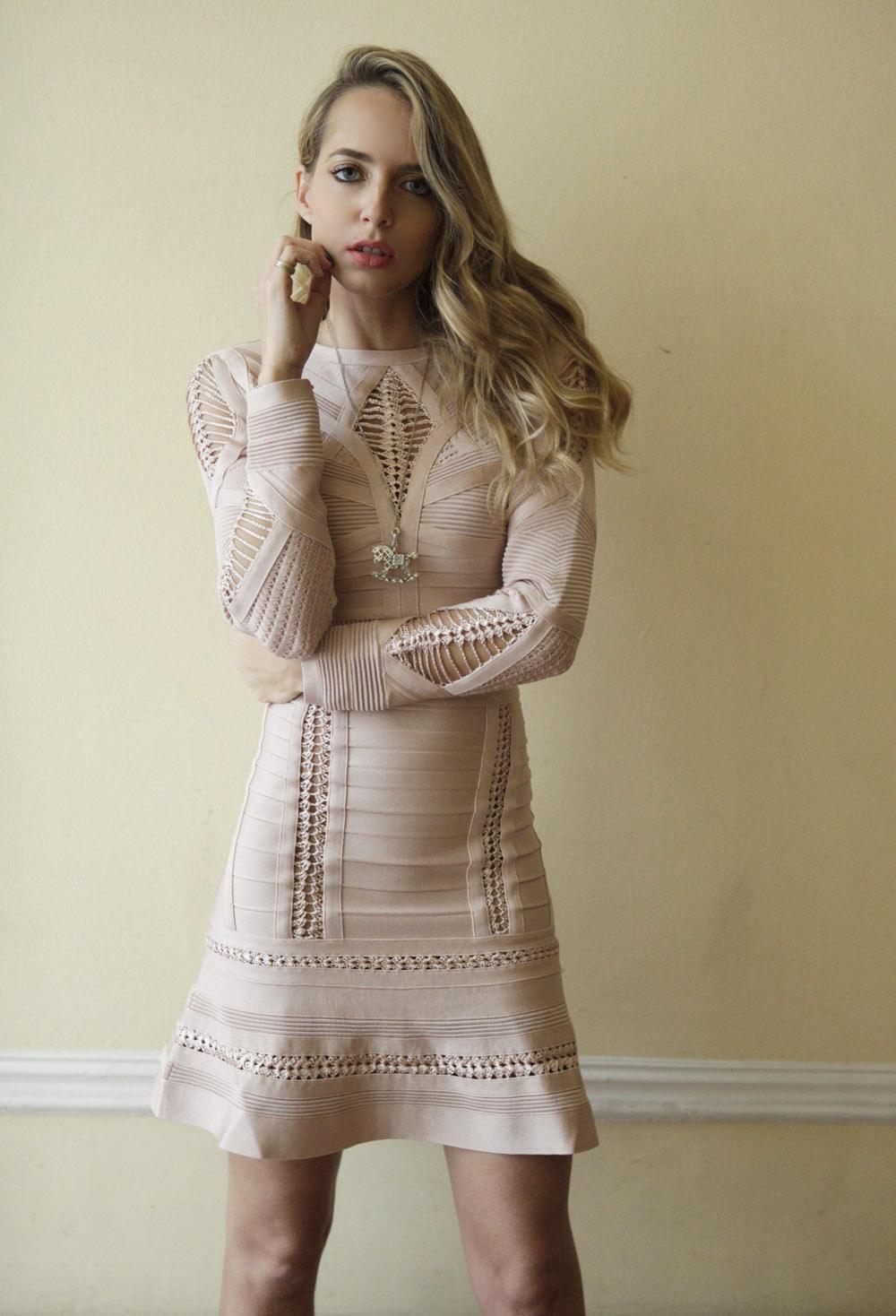 herveleger dress double pieces