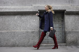 look blue e bordeaux