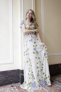 luisa beccaria abito lungo spring summer