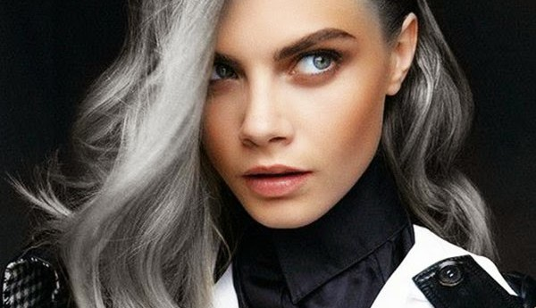grey hairstyle 2017