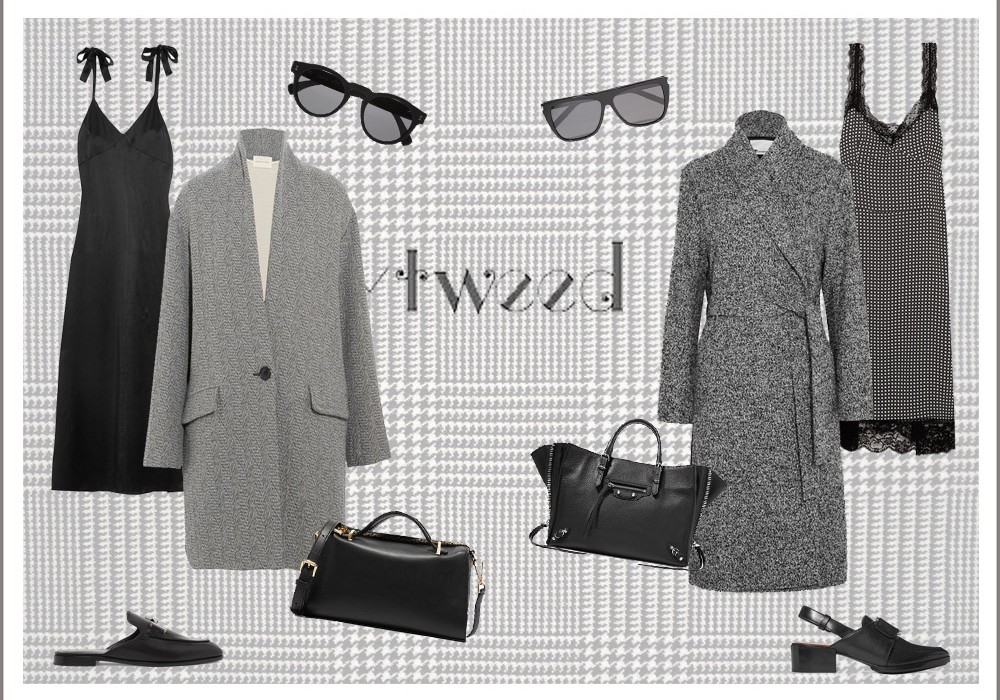 How to style a Grey Tweed Coat