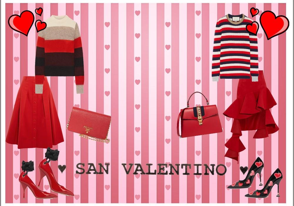 Idee per l'outfit di San Valentino