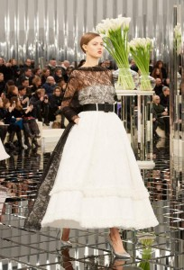 chanel fashion show high fashion 2017