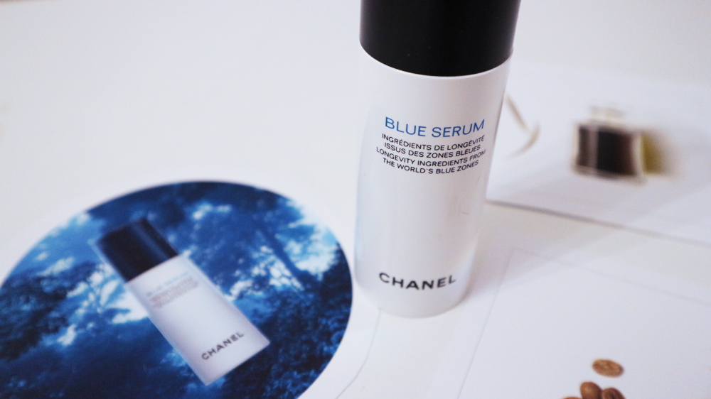 discover the blue serum chanel