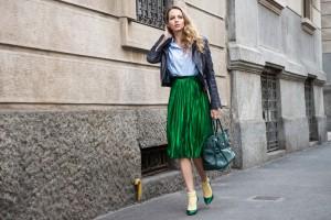 green skirt gucci