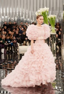 lily rose deep chanel haute couture