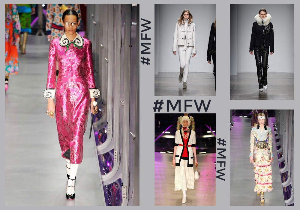 Discover the Milan Fashion Week Fall-Winter 2017/2018