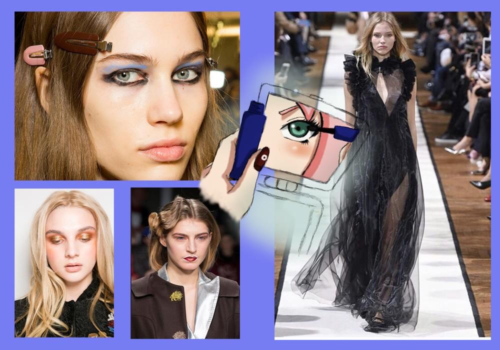Make up 2017 : un occhio sulle sfilate