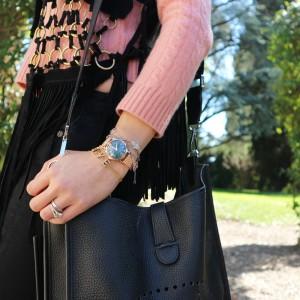 chloe love braceletwith henry london watch