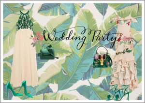 How to style a Wedding Party Look