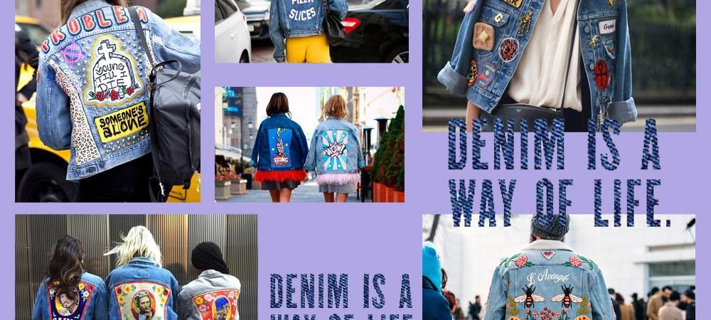 Una Giacca Jeans e 8 Stili differenti